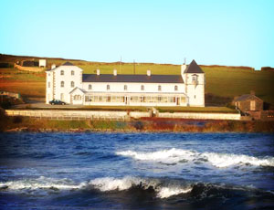 Stella Maris sits on the north coast of Ireland
